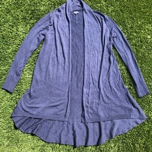Splendid Navy Blue Cardigan Sweater Small S